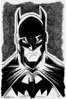 Sketch 050 of 100 BATMAN by misfitcorner