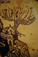 Marauders  Map - The Willow by Icemaya