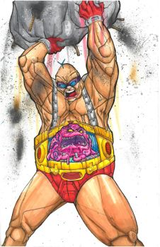KRANG ANDROID ATTACK - FULL COLOR by DREWzART