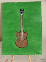 Gibson Curved Top SG by VisualScream
