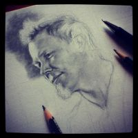 James Hetfield WIP by SavanasArt
