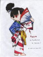 Kagura to MoniSaku by KaylaNostrade
