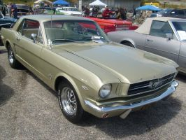 65 Green Mustang by XJK