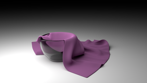 3d Models: Cloth Test by becky0220