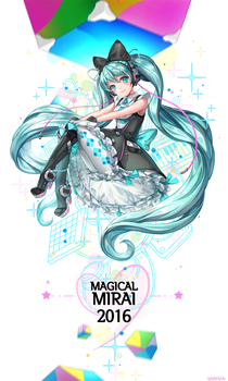 Magical Mirai 2016 by hotpppink