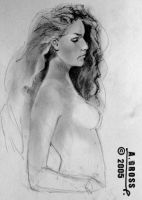 graphite girl 7 by Be17aiah