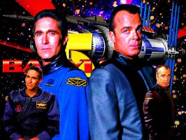 Commander and Security/Babylon 5 by scifiman