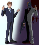 THE TWOFACE by vitamin-Si