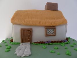 Cottage Cake by Rebeckington