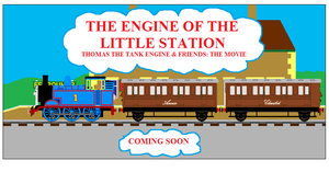 The Engine of the Little Station Poster by SpotlightthePegasus