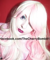 Pretty in pink cute inspired face hair look by cherrybomb-81