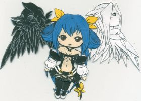Guilty Gear Dizzy Paper Doll by kiki-alura-reikai
