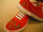 custom legend of zelda shoes by grell108