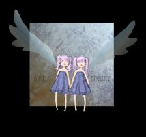two angels by sarahbeara