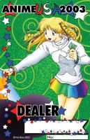 Dealer Badge Anime USA 2003 by AzreGreis