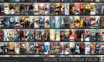 Movie Icon Mega Pack 7 by FirstLine1