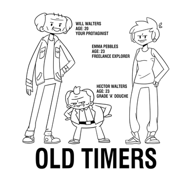 Old Timers Crew by harrisonb32