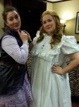Wendy Darling and Alice from Once Upon a Time by crinoline-gremlin