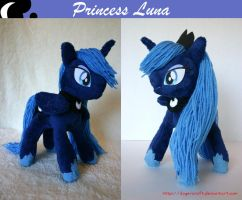Princess Luna Plushie by DogerCraft
