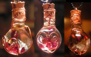 Magic Vial - Hearts N Flowers by Izile