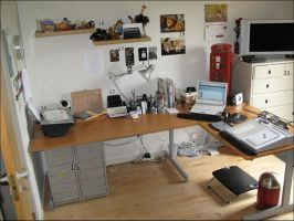 Aakermans desk by Aakerman
