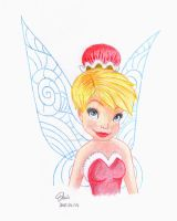 Christmas Tinker Bell by DenisDlugas