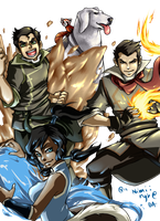 Legend of Korra by nyb