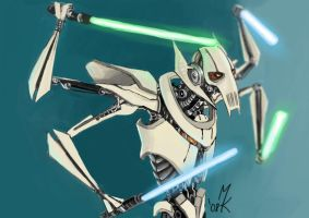 Star Wars: Grievous by Uniformshark