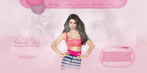 Selena Gomez Header#3 - Portfolio by DarkVisuals