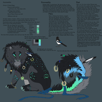 Nikana Reference sheet by Lastrekia