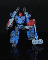 Transformers Shattered Glass Ultra Magnus Custom by Shenron-Customs