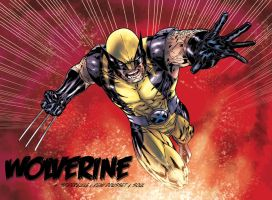 Wolverine Wednesday 52 variant by SpiderGuile