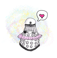 Sugarplum Dalek by majichan
