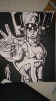 Galactus Sharpie by papabear7