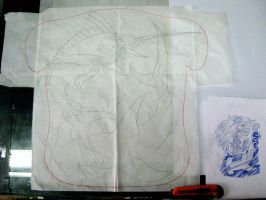 Full back Sea Design WIP by micaeltattoo