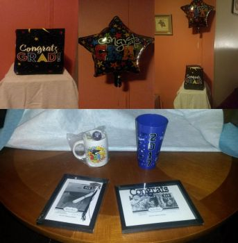 My Graduations Gifts from Relatives! by GreenMint4265
