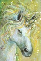 Through the Light - ACEO by BlackAngel-Diana