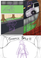 Comic page thingy WIP by SapphieChan