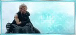 Stamp Cloud Strife, Final Fantasy Advent Children by Hinater