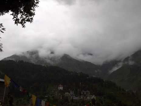 Monsoon in Himachal by spacejunior