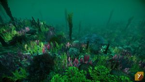 UPDATED - Unity : Underwater Plants by Nobiax