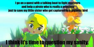 Link's sanity.  Question it. by SDRseries