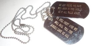 Hollywood Undead: Dog tags by Chii-Uso