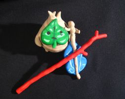 Wind Waker Makar Sculpture by mAd-ArIsToCrAt