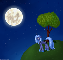 Beautiful night by ArtyJoyful