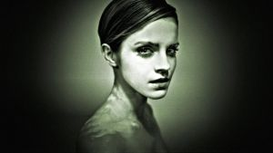 Emma Watson Glamour Portrait II by Dave-Daring