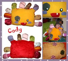 Cody the Flower Pillow by arihoma