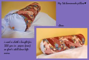 Pillow Japanese Quilt by rhythmicStars