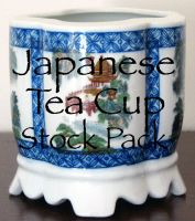 Japanese Tea Cup Stock Pack by XdemonicXstockX