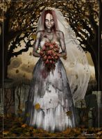 Zombie Bride by ted1air